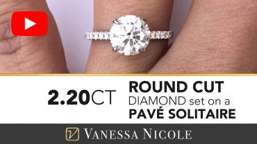 Round Cut Diamond Solitaire Ring for Alexandra