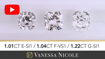Cushion Cut Diamond Selection - Vanessa Nicole Jewels