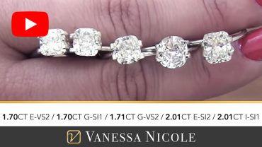 Cushion Cut Diamonds Ring for James