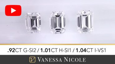 Emerald Cut Diamond Ring Selection for Michael
