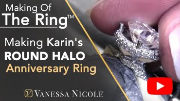 Making An Engagement Ring Watch As I Make Karin's Diamond Engagement Ring