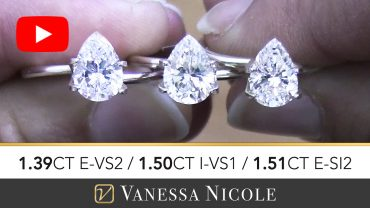 Pear Cut Diamond Selection for Eric