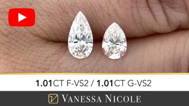 Pear Cut Diamond Size Comparison and Selection for Silvano