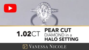 Pear Cut Engagement Ring for Amy