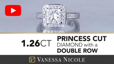 Princess Cut Diamond Engagement Ring for Rachel - Vanessa Nicole