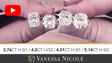 Radiant Cut Engagement Ring Diamonds for Cliff