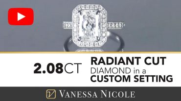 Radiant Cut Engagement Rings for Sewit - Vanessa Nicole Jewels