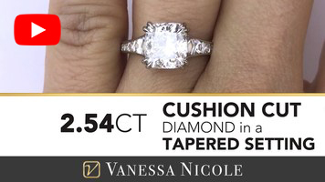 Cushion Diamond Ring for Kim