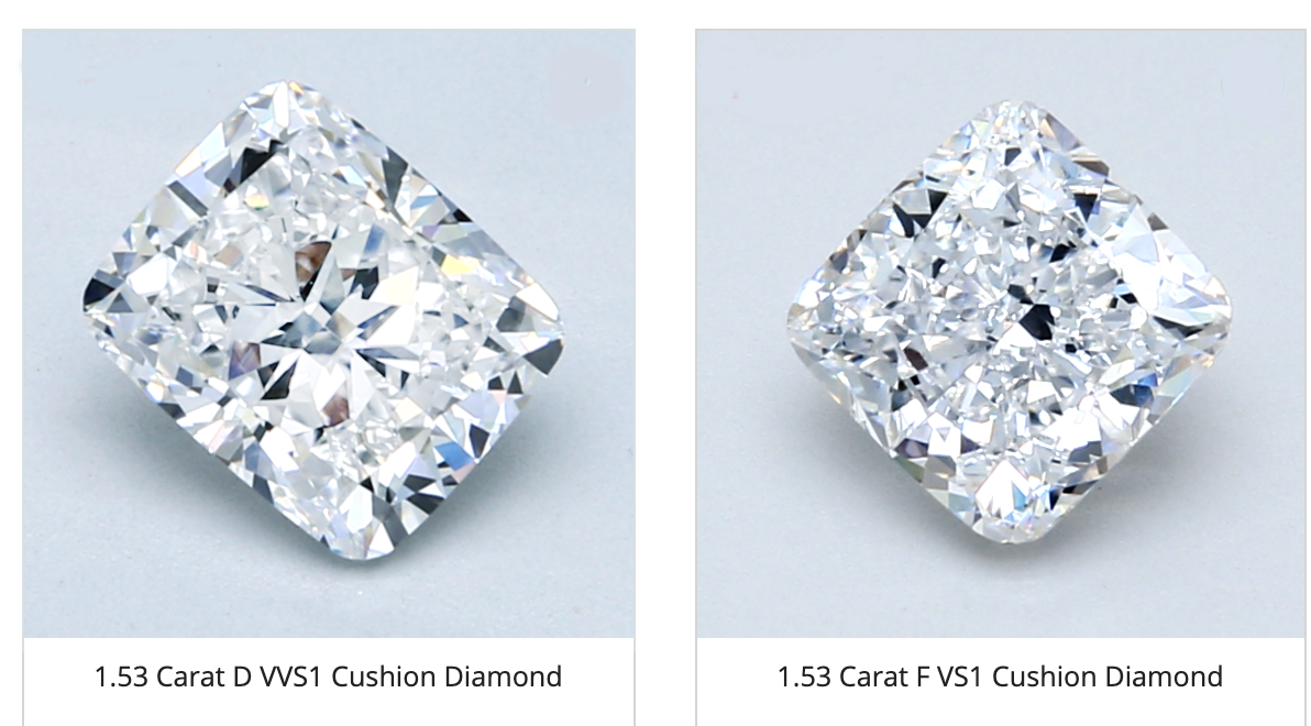 Square vs. Rectangular Cushion Cut Diamond