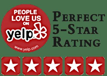 perfect five-star yelp